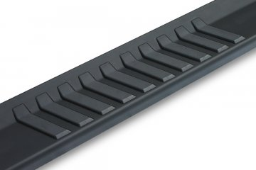 "2007-2019 GMC Sierra 2500/3500 Double/Ext. Cab (Gas/Diesel) OEM Style 6"" Running Boards (Black)"