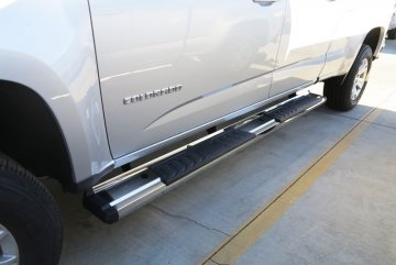 2015-2020 Chevy Colorado Crew Cab S-Series Running Boards (Stainless Steel)