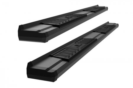 2019-2021 GMC Sierra 1500 Double Cab S-Series Running Boards (Black)