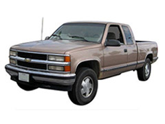 Chevy Silverado CK Running Boards