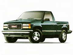 GMC Sierra CK Running Boards
