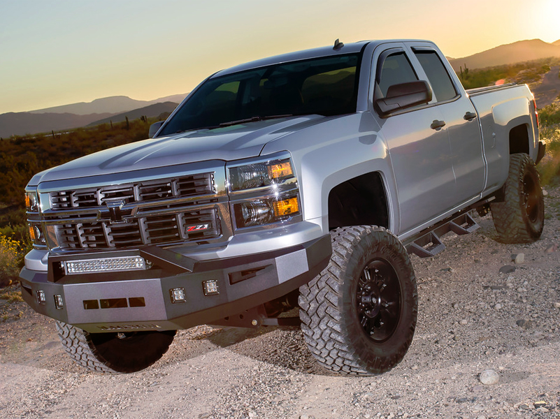 2015-2019 Chevy 2500/3500HD Crew Cab Magnum RT Truck Steps ...