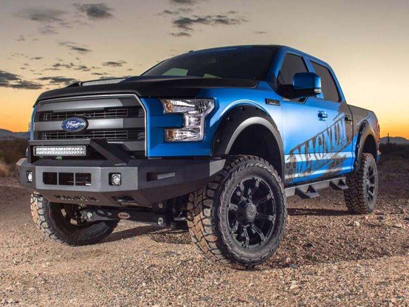 2015-2020 Ford F-150 Super Crew Magnum RT Truck Steps ...