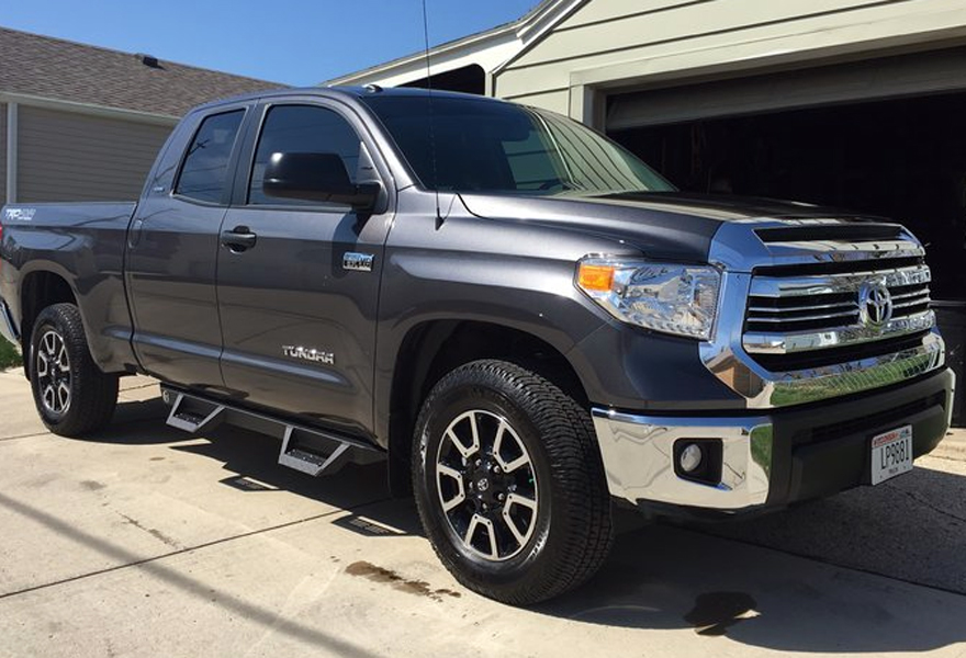 2007-2018 Toyota Tundra Double Cab Magnum RT Truck Steps ...