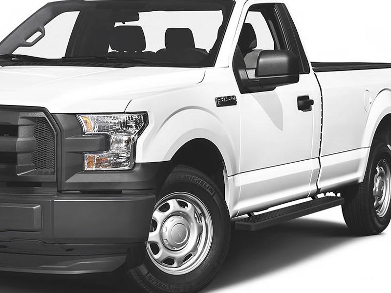 Gmc Canyon Length >> IB06EAH9B: 2015-2019 Ford F-150 Regular Cab iStep 5 (Black ...